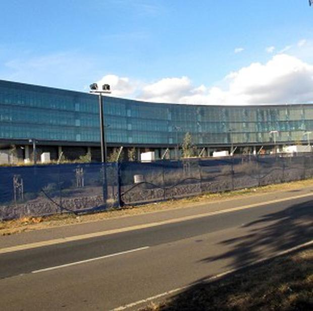 The Australian Security Intelligence Organisation's new headquarters is nearing completion in Canberra (AP)