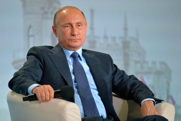 Russia's President Putin. Photo: Getty Images