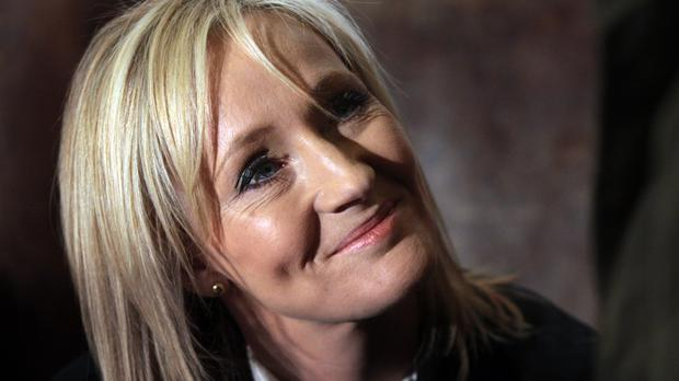 J.K. Rowling wrote the first two books of the Harry Potter series while sitting in the chair