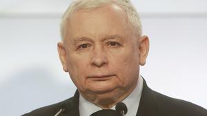 Jaroslaw Kaczynski said he was assured that 'in the first phase of negotiations Britain will want to take care of the issue in a positive way' (Czarek Sokolowski/AP)