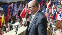 Pawel Adamowicz has served as mayor for 20 years (AP)