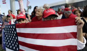 Supporters of President Donald Trump in McAllen, Texas (Eric Gay/AP)