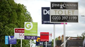 More than two-fifths of renters whose work has been impacted by coronavirus have struggled to pay for essentials, according to a survey from Opinium (PA)