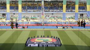 The tournament is being held in Gabon (AP)