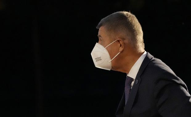 The so-called Pandora Papers have focused attention on Mr Babis' financial dealings (AP)