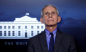 Concerned: Anthony Fauci. Picture: Reuters