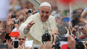 The Pope's chiding of cardinals provides pleasure also to Catholics who hold their hierarchy in something less than the highest honour