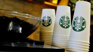Starbucks has suspended social media ads (Nick Ansell/PA)