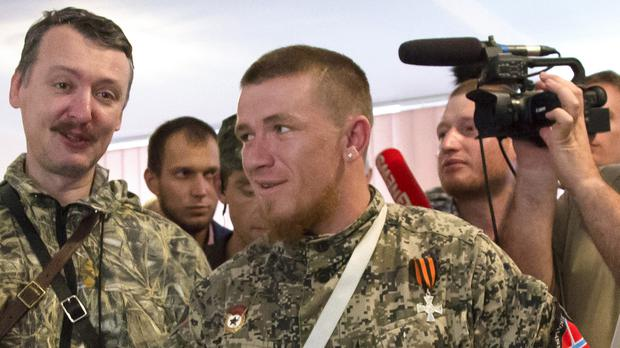 Arsen Pavlov, also known as Motorola, was killed in Donetsk (AP)