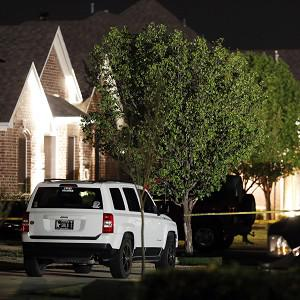 Investigations are continuing into the shooting (AP/Dallas Morning News, Ian C Bates)