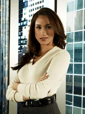 Acting career: Meghan Markle in the hit US TV legal drama Suits