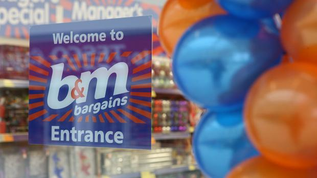 Discount retailer BandM said sales were 'slower than anticipated' in the run-up to Christmas (BandM/PA)