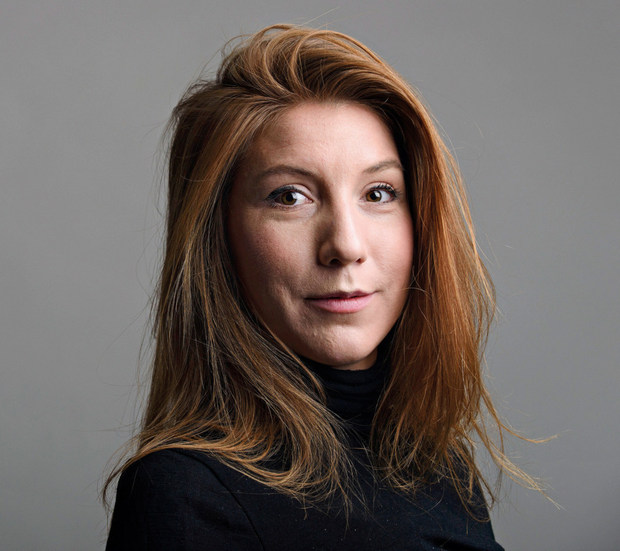 """Swedish journalist Kim Wall, who was on board the submarine """"UC3 Nautilus"""" before it sank in the strait between Denmark and Sweden. Photo: TT News Agency/Tom Wall"""