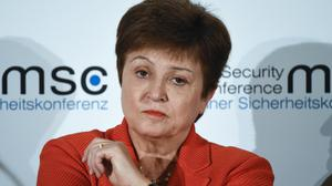 Kristalina Georgieva, managing director of the International Monetary Fund (Jens Meyer/AP)