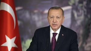 Turkey's President Recep Tayyip Erdogan (Turkish Presidency/AP)