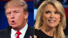 Donald Trump has been heavily criticised for his comments about Megyn Kelly (AP)