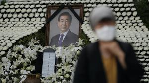 Mayor Park Won-soon was found dead in wooded hill in northern Seoul Lee Jin-man/AP)