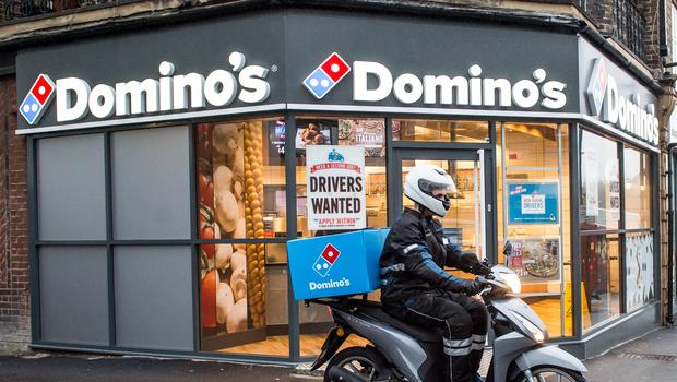 Domino's Pizza has served up a sales hike for the last three months of 2019 (Domino's/PA)