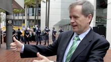 Bill Shorten is the first Australian political leader to back a bill to overturn a national ban on gay marriage (AP)