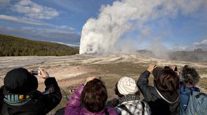 Scientists have discovered a new, deeper reservoir of partly-molten rock beneath the Yellowstone supervolcano (AP)