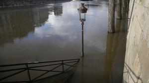 The banks of river Seine are flooded in Paris (Michel Euler/AP)