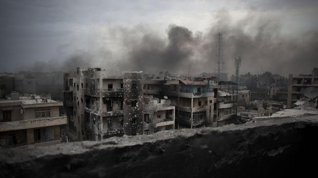 US-Russian tensions over Syria have escalated since the breakdown of a ceasefire last month, with each side blaming the other for its failure (AP)