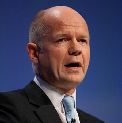 William Hague said Iran faces increasing isolation from the international community