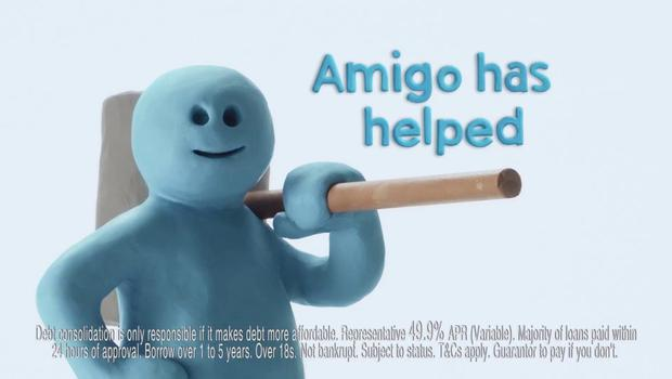 Amigo lends customers between €500 and €5,000 over one to three years, and charges a 49.9pc annual percentage rate (Amigo/PA)
