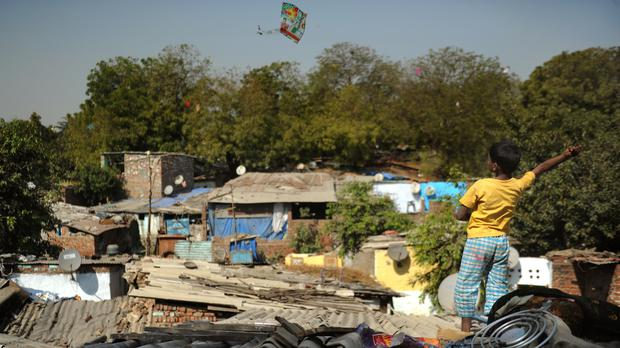 Kite flying is popular in India