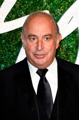 Injunction: Topshop's Philip Green was named in parliament