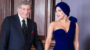 Lady Gaga and Tony Bennett will be among stars doubling up for a Grammy Awards performance (AP)