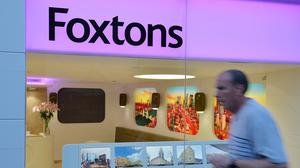 Revenues at estate agency Foxtons were hit by the June ban on tenant fees (John Stillwell/PA)