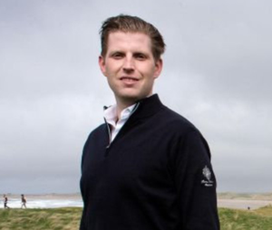 Eric Trump has griped about the media not always showing the full briefing