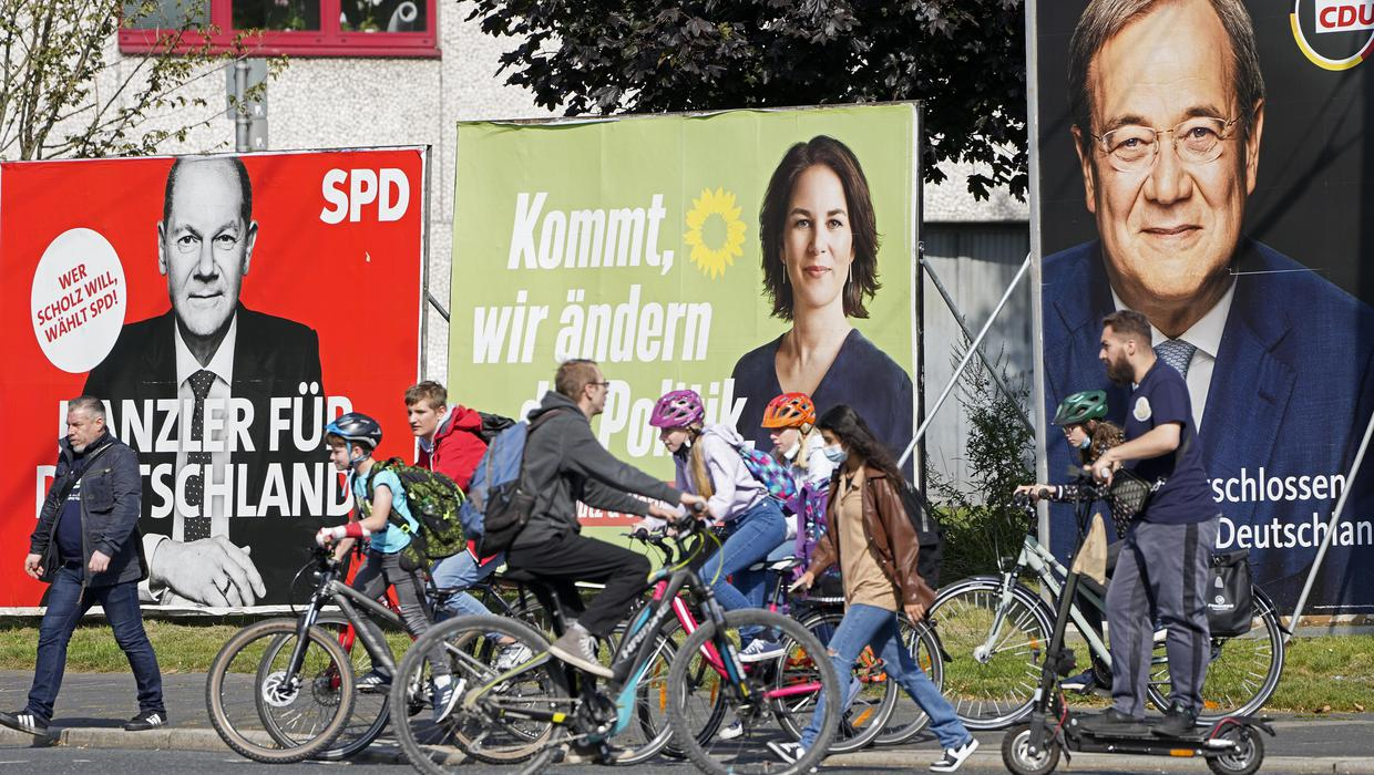 Candidates to succeed Angela Merkel make final push ahead of Germany's election