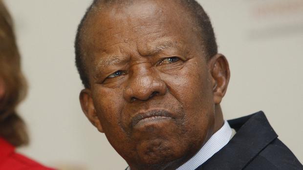 Ketumile Masire has died aged 91 (Kirsty Wigglesworth/AP)