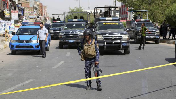 The attackers targeted neighbourhoods of Baghdad, Iraq (AP)