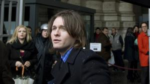 Amanda Knox's Italian ex-boyfriend Raffaele Sollecito arrives at Italy's highest court building, in Rome (AP)