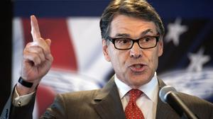 Rick Perry has ended his second bid for the Republican presidential nomination, becoming the first major candidate of the 2016 campaign to give up on the White House (AP)