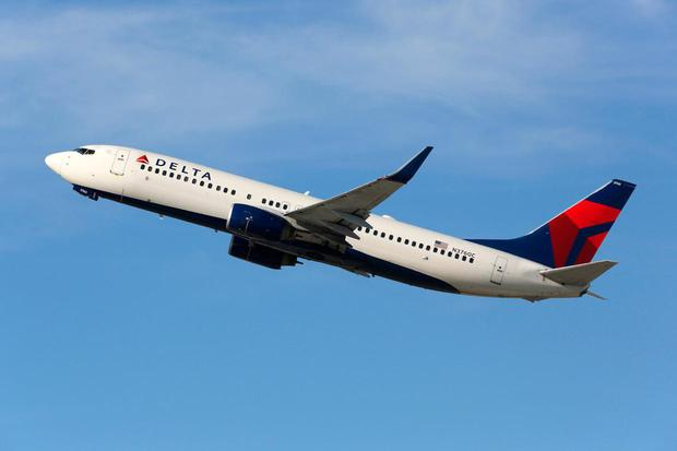 Delta airlines were among the carriers affected by the outage on Thursday morning. Photo: Deposit