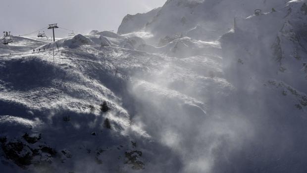 Rescue operations have been called off at the Alpine resort (AP)