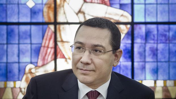 "Victor Ponta said the resignation of his government would cause a ""political crisis of three, four, five months"" (AP)"