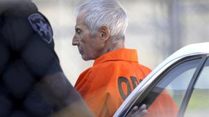 Robert Durst has been charged with first-degree murder over the killing of his friend Susan Berman. (AP)