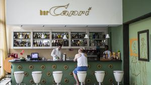 """One of the """"attacks"""" occurred on an upper floor of the recently renovated Hotel Capri (AP)"""