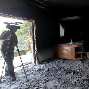 Four US citizens were killed in an attack on its Benghazi consulate in Libya (AP)