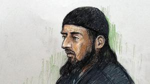 Haroon Aswat pleaded guilty to supporting terrorism and conspiracy. (PA/Elizabeth Cook)