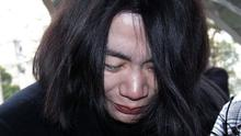 """Cho Hyun-ah was found guilty of violating aviation safety law after the """"nut rage"""" trial. (AP)"""