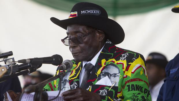 President Robert Mugabe declared the floods to be a national disaster this week (AP)
