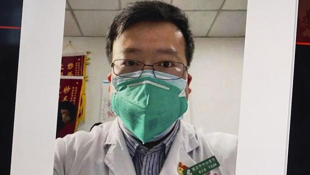 Dr Li Wenliang, the Chinese doctor who got in trouble with authorities for sounding an early warning about the coronavirus outbreak (AP)