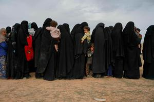 'Have the women of Libya been liberated by the Nato overthrow of Gaddafi? Have the women of Iraq or Syria been liberated by the UN, or by the UN's most powerful members?' Photo: AP Photo/Andrea Rosa