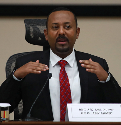 Ethiopia's Prime Minister Abiy Ahmed. Photo: Reuters